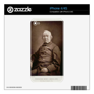 Edouard-Rene Laboulaye (1811-83), from 'Galerie Co Decals For iPhone 4