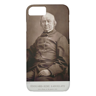 Edouard-Rene Laboulaye (1811-83), from 'Galerie Co iPhone 7 Case