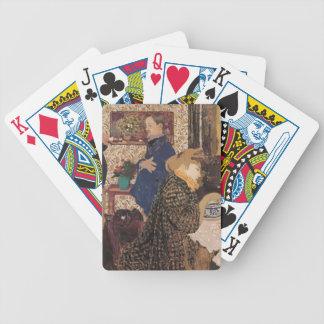 Edouard Vuillard- Valloton & Misia in Dining Room Card Deck