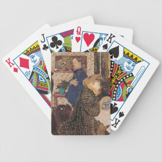 Edouard Vuillard- Valloton & Misia in Dining Room Deck Of Cards