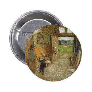 Edouard Vuillard:Vestibule at Saint Jacut mer Button