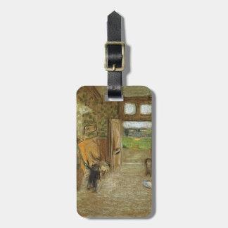 Edouard Vuillard:Vestibule at Saint Jacut mer Luggage Tag