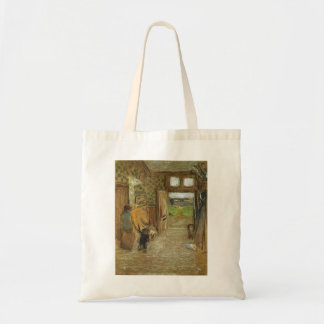 Edouard Vuillard:Vestibule at Saint Jacut mer Tote Bag