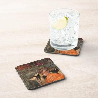 Edouard Vuillard-Yvonne Printemps and Sacha Guitry Beverage Coaster