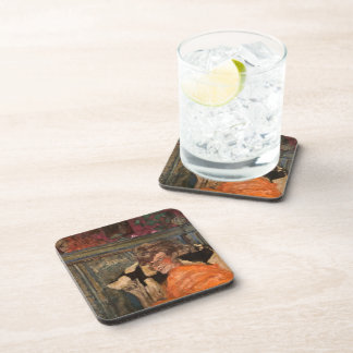 Edouard Vuillard-Yvonne Printemps and Sacha Guitry Coasters