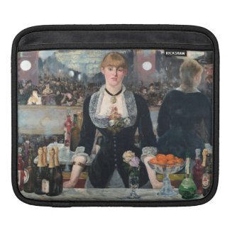 EDOUART MANET - A bar at the Folies-Bergere 1882 iPad Sleeve