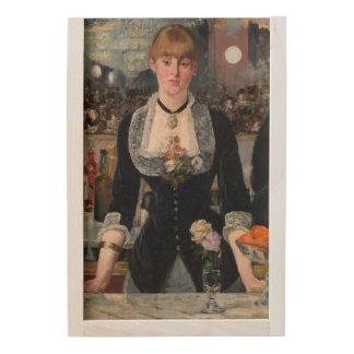 EDOUART MANET - A bar at the Folies-Bergere 1882 Wooden Keepsake Box