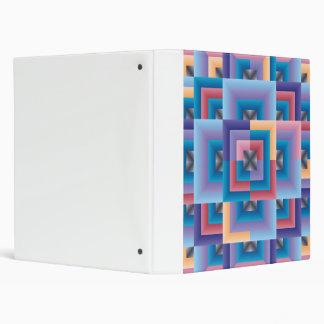 """Edredón abstracto azul rosado carpeta 1"""""""