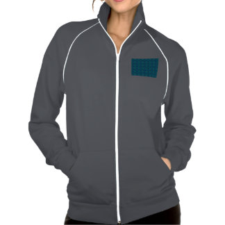 Edredón abstracto moderno vibrante del azul de la chaquetas