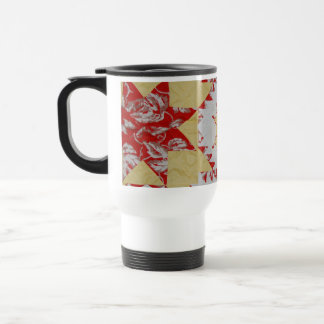 Edredón americano antiguo taza de viaje