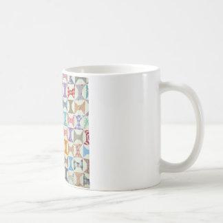 Edredón antiguo taza de café