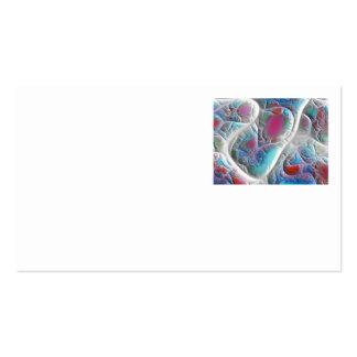 Edredón azul y blanco - placer de la magenta y de  tarjeta de visita