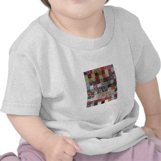 edredón con los corazones camisetas