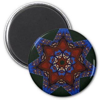 Edredón de la estrella imán redondo 5 cm