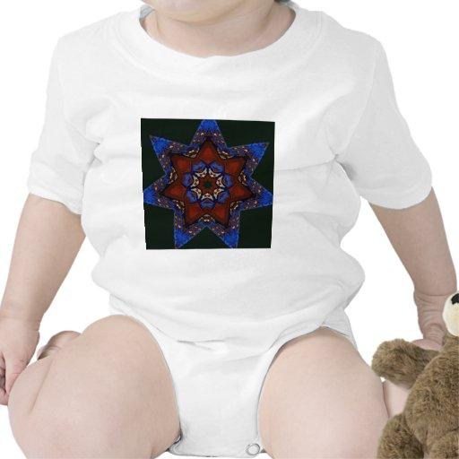 Edredón de la estrella trajes de bebé