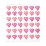 Edredón de la tarjeta del día de San Valentín de c Bloc De Notas