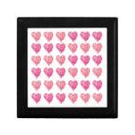 Edredón de la tarjeta del día de San Valentín de c Caja De Joyas