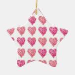 Edredón de la tarjeta del día de San Valentín de c Ornamentos De Reyes