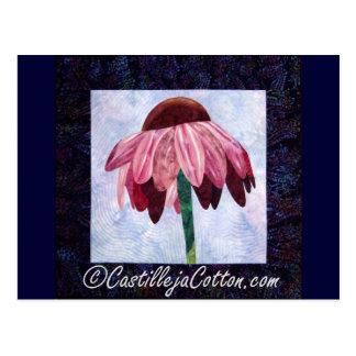 Edredón del arte de la flor del cono postales