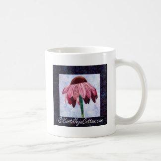 Edredón del arte de la flor del cono taza clásica