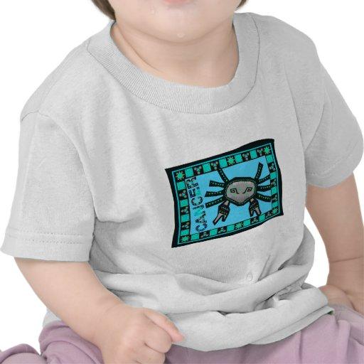 Edredón del cáncer camisetas