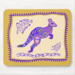 Edredón del canguro tapete de ratón