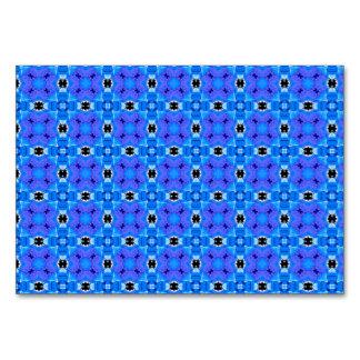 Edredón floral abstracto violeta azul moderno del
