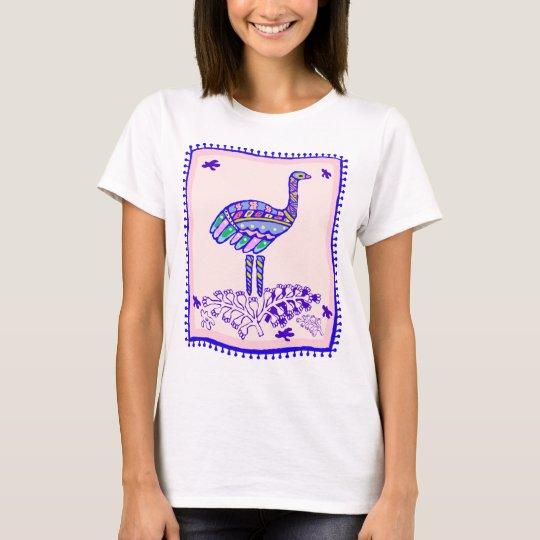 Edredón indio de la avestruz playera