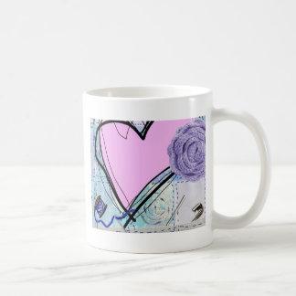 Edredón rosado taza de café