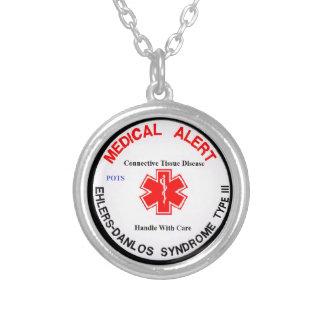 EDS 3 POTS Medical Alert Necklace