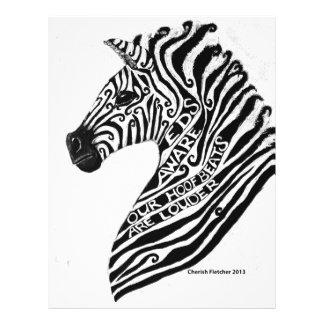 EDS Aware Zebra Letterhead