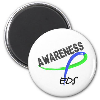 EDS Awareness 3 2 Inch Round Magnet