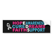 EDS Awareness Bumper Stickers