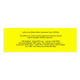 EDS Awareness Card - 2013