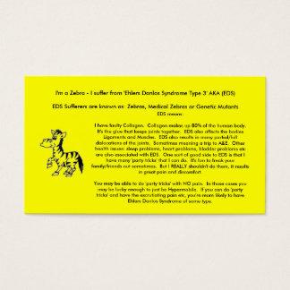 EDS Awareness Cards