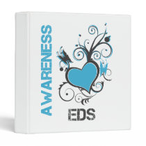 EDS Awareness Heart Binders