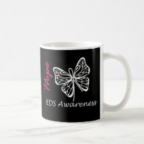 EDS Awareness Hope Butterfly Mugs