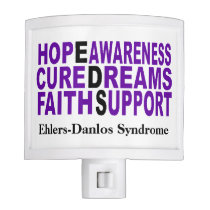 EDS Awareness Hope Cure Night Light