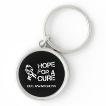 EDS Awareness Hope for a Cure Keychain