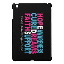 EDS Awareness Hope iPad Mini Cases