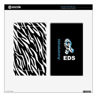 EDS Awareness Kindle Zebra Print Skin Cover Skins For Kindle Fire