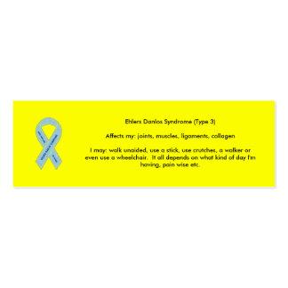 EDS Awareness Mini Business Card