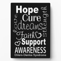 EDS Awareness Plaque