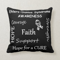 EDS Awareness Positive Words Pillows