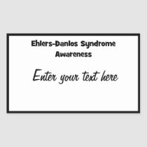 EDS Awareness Square Sticker