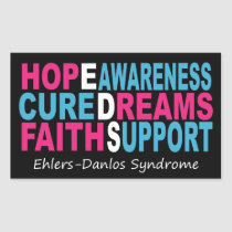 EDS Awareness Words of Encouragement Sticker