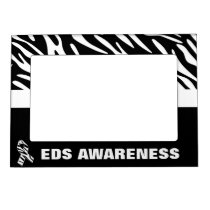 EDS Awareness Zebra Stripes Magnet Photo Frame