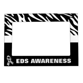 EDS Awareness Zebra Stripes Magnet Photo Frame