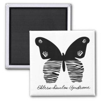 EDS Butterfly Zebra Stripe Magnet