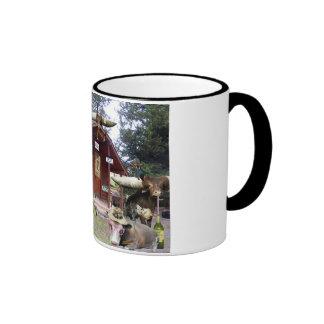 ED'S cabin Ringer Mug